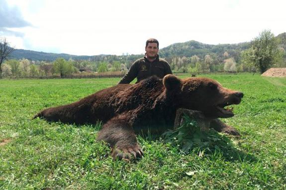 caza rumania