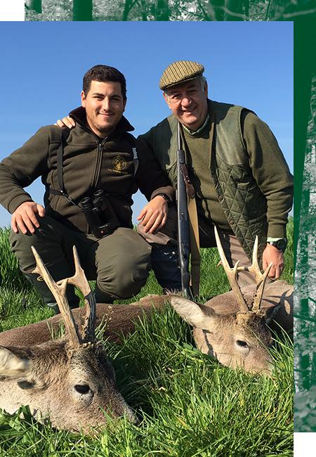 Hunting European Roe Deer in Spain