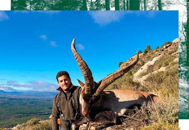 Jagd auf Steinböck in Spanien